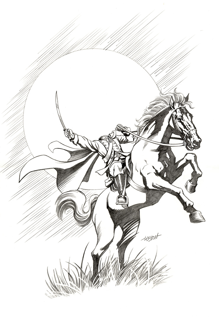 headless horseman coloring pages - sleepy hollow headless horseman coloring pages coloring pages
