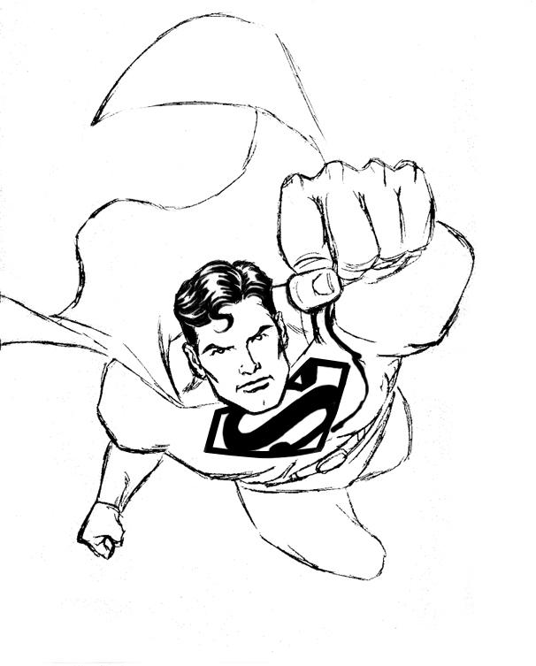 easy superman drawings - photo #9